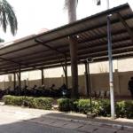 Kanopi dan Pagar Parkiran Pusat Pengolahan Data dan Dokumen Perpajakan 2