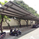 Kanopi dan Pagar Parkiran Pusat Pengolahan Data dan Dokumen Perpajakan 3